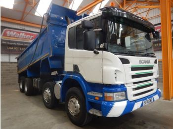 Istovarivač SCANIA P340 EURO 5, 8 X 4 STEEL MUCKSHIFT TIPPER - 2010 - SF10 CWZ