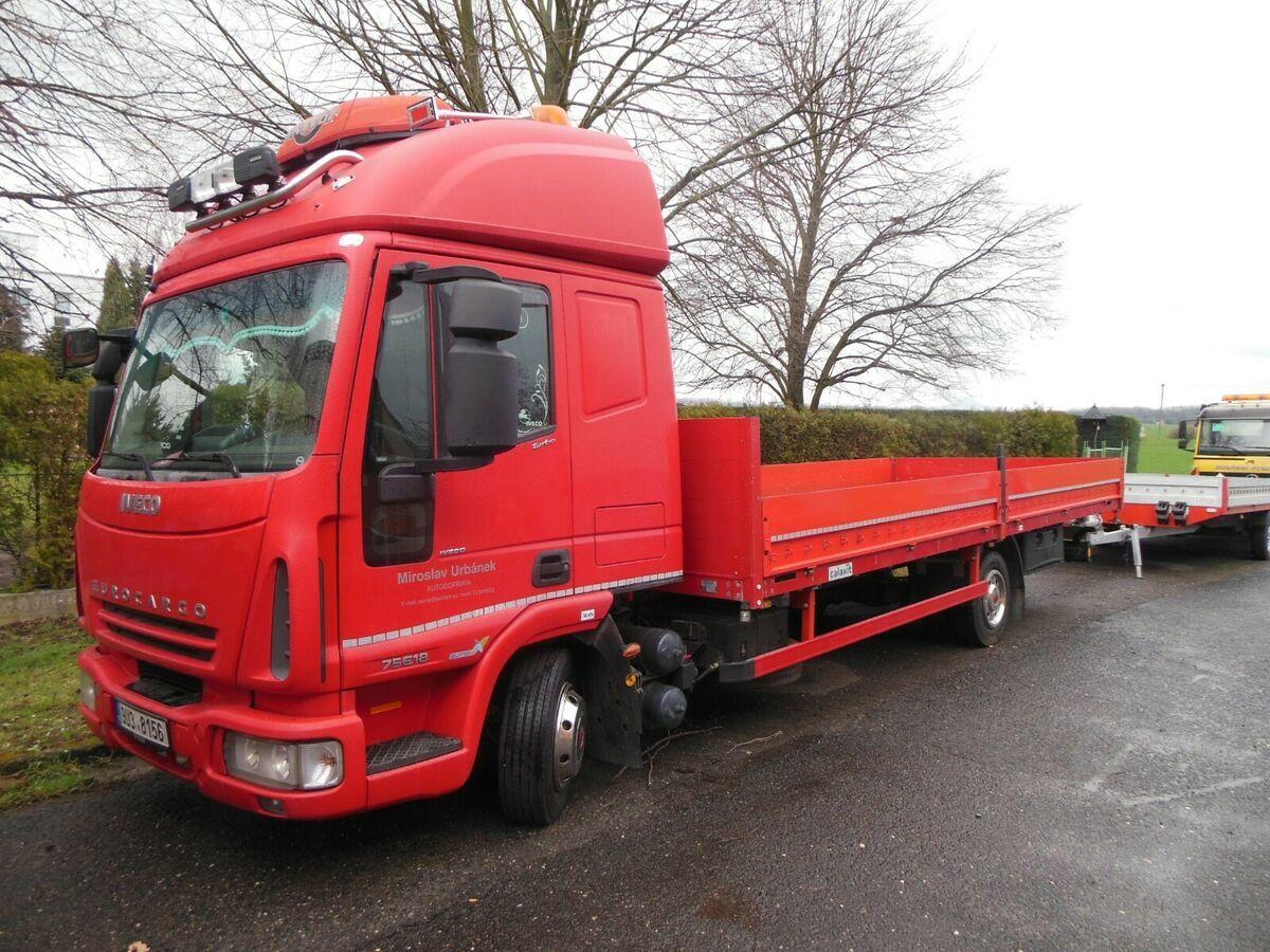 Prodaja kamion sa otvorenim sandukom Iveco EuroCargo ML 75E18 ...