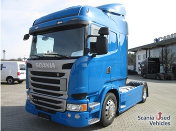 Scania R410LA4X2MLA / 2 Tanks / Abstands- u. Spurwechselw - tegljač